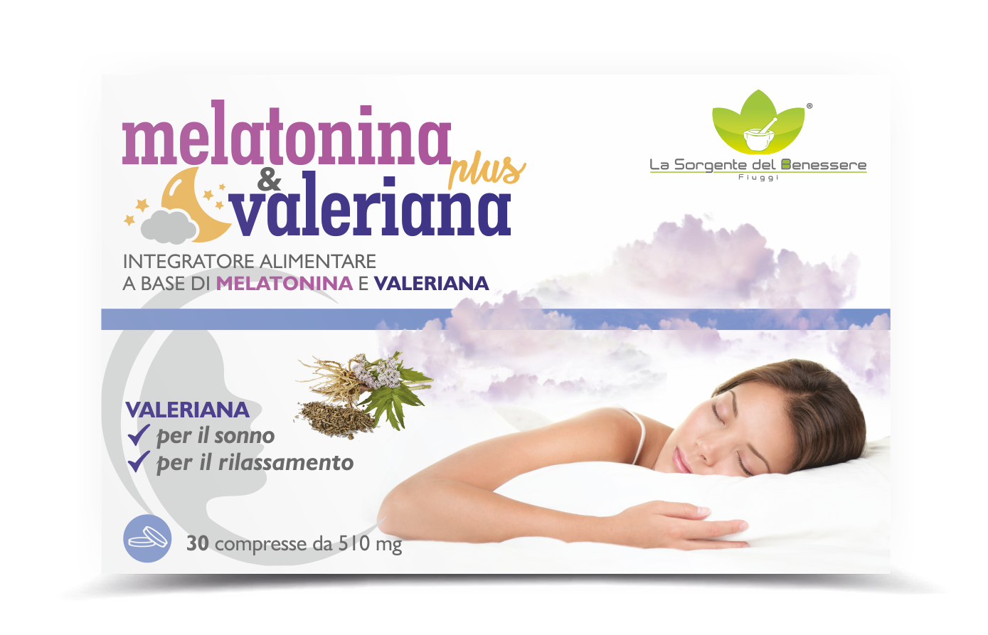 MELATONINA & VALERIANA PLUS